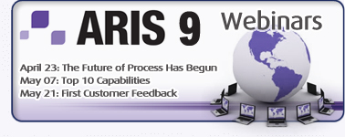 Webinars on ARIS 9