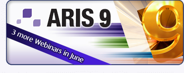 Join another three webinars about ARIS 9