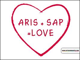 ARIS + SAP = LOVE ecard