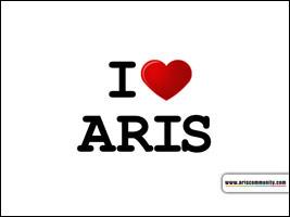 I LOVE ARIS ecard