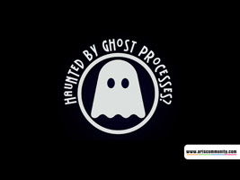 Hounted by ghost processes? ecard